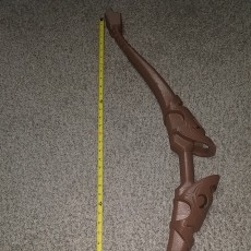 Picture of print of Link's Bow from Legend Of Zelda