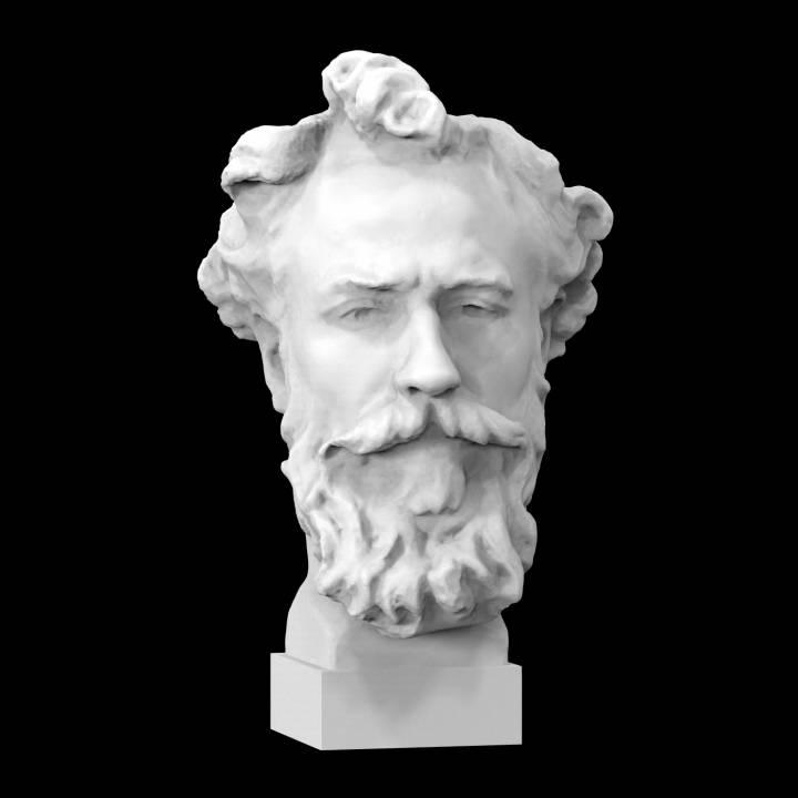 Bust of Alphonse Legros