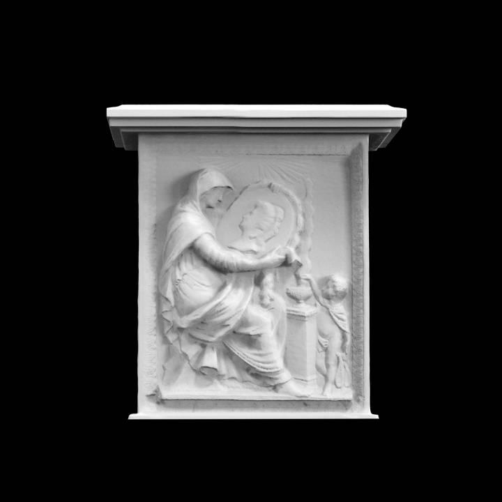 Relief on Gravestone