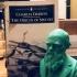 Bust of Charles Darwin print image