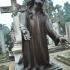 Memorial statue depicting Jesus image