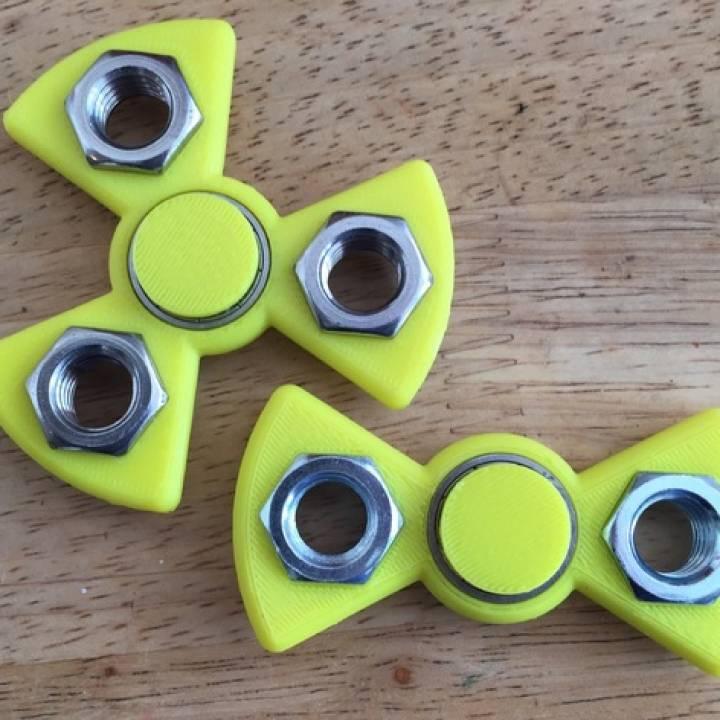 Pick-a-weight Fidget Spinner (customizer)