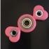 I Heart <3 Customizable Valentine Hex Nut Fidget Spinner image