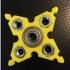 Customizable Ninja Star (Snowflake?) Hex Nut Fidget Spinner image