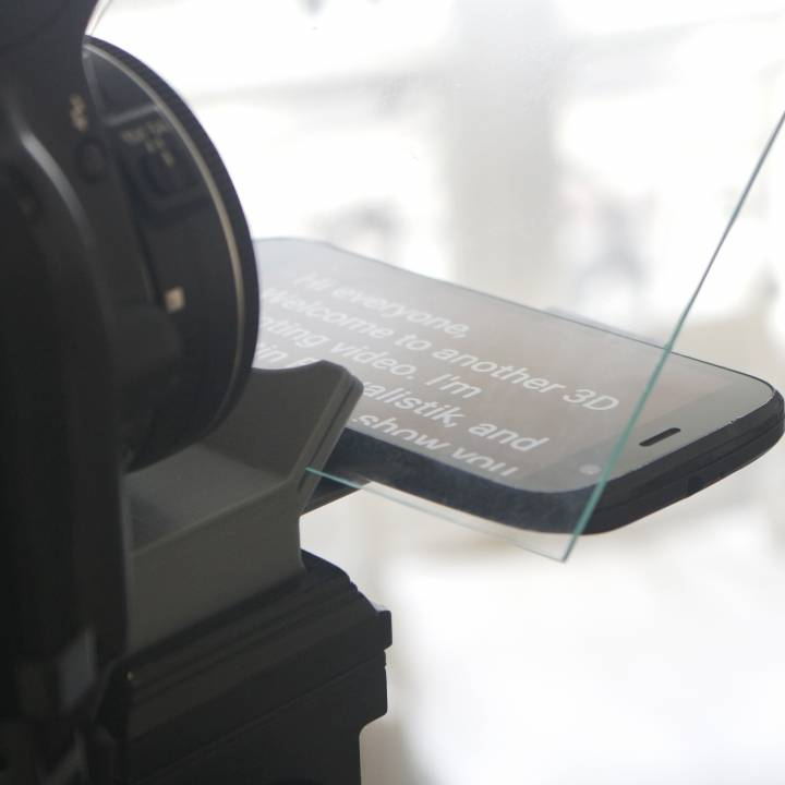 Smartphone Teleprompter - Tripod Adapter
