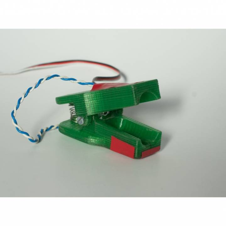 IR Heart rate monitor clamp