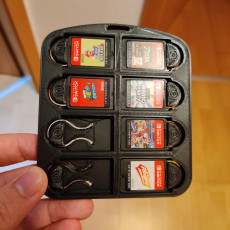 Picture of print of Nintendo Switch Cartridge holder x8