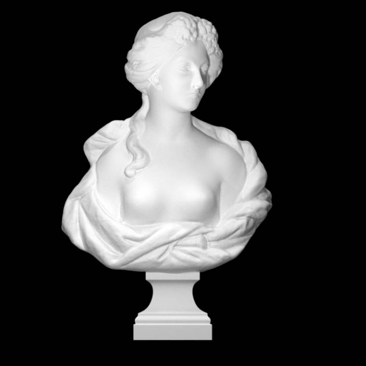 Woman with Locks (Flora)