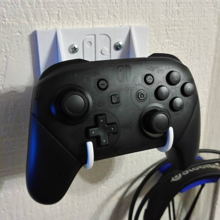 Nintendo Switch Pro Controller Wall Hook Mount