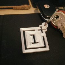 Picture of print of OnePlus Keyring