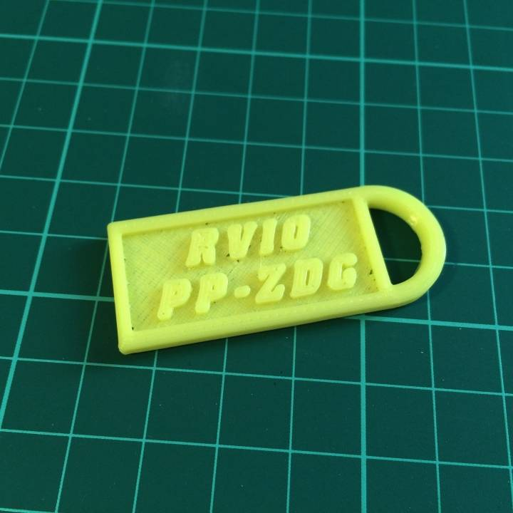Vans RV10 key ring
