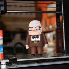 Picture of print of Carl Fredricksen