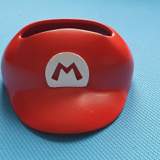 Picture of print of Nintendo Switch Mario Hat