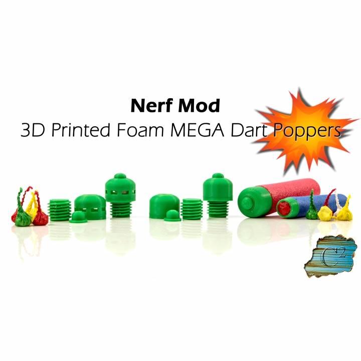 Nerf MEGA Explosive Tips - Party Snap Foam Dart Tips