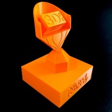 3D Printing Industry Awards Trophy