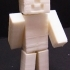Minecraft Steve - One piece print with moving head/arms/legs! image