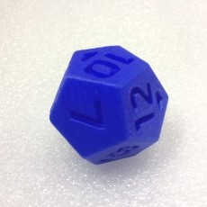 Dice - 12 sided (Replaces two regular dice... plus adds outcomes!)