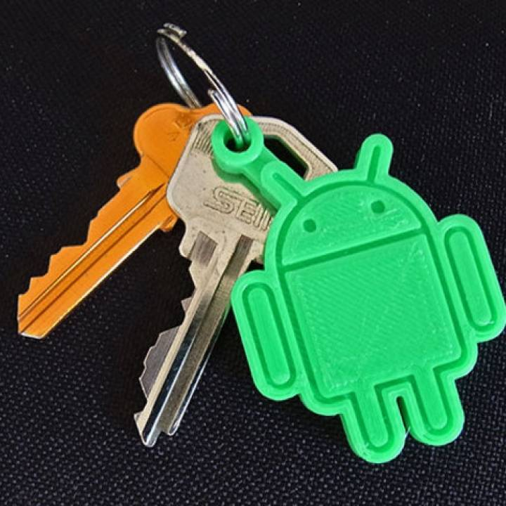 Android Key Fob... Every Android Owner Should Print One!