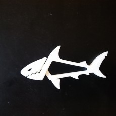 Picture of print of SHARKZ... Fun Multipurpose Clips / Holders / Pegs With Moving Jaws That Bite! This print has been uploaded by Romain Kidd
