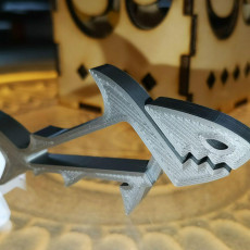 Picture of print of SHARKZ... Fun Multipurpose Clips / Holders / Pegs With Moving Jaws That Bite! This print has been uploaded by Mario