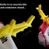 SHARKZ... Fun Multipurpose Clips / Holders / Pegs With Moving Jaws That Bite! image