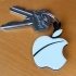 Apple Key Fob... The Must Have 'Apple Logo' Shaped Key Fob For Apple / iPhone / iPad Fans image