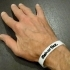 Ultra-Slim Wristband - Clever Link System. MakerBot Logo Or Plain Versions. image