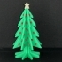 Christmas Tree - Your own personal mini 3D printed Christmas tree with coloured decorations! image