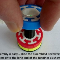 The  Revolver ... easy to print but challenging to solve!
