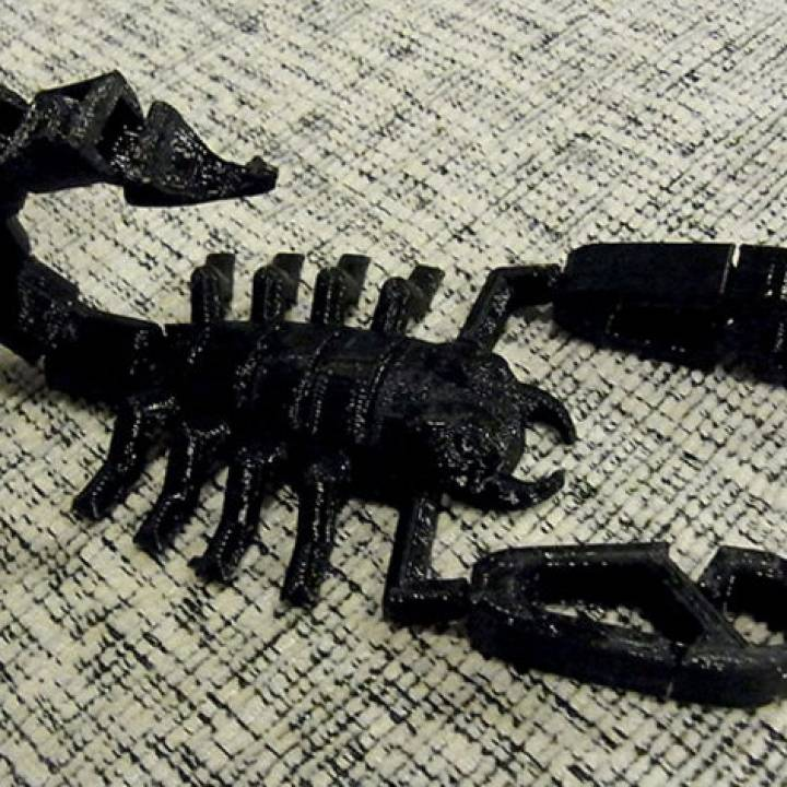Scorpionz... With Rotating Tail And Pincers That Nip!