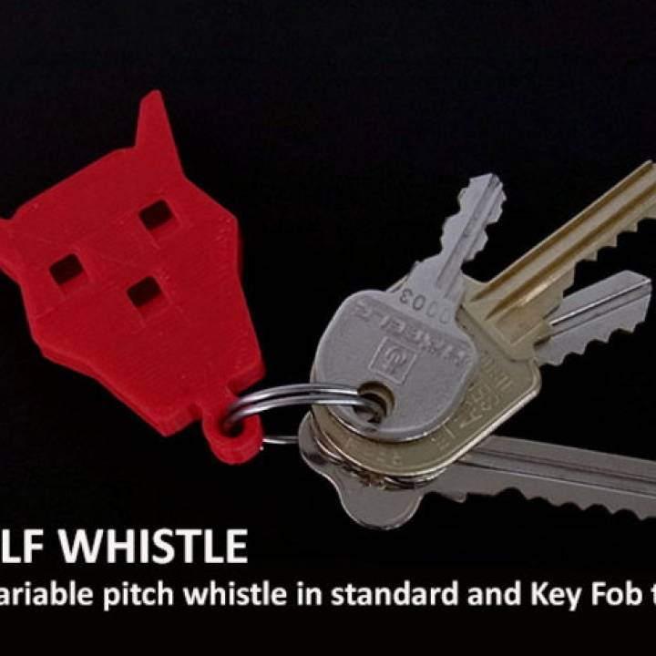 Wolf Whistles... easy and fun multi pitch whistles!
