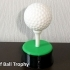 Golf Ball Trophy image