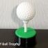 Golf Ball Trophy image