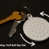 'Rotating' Golf Ball Key Fob image