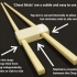 'Cheat Sticks' - The Easy Way To Keep Your Chop Sticks Under Control! image