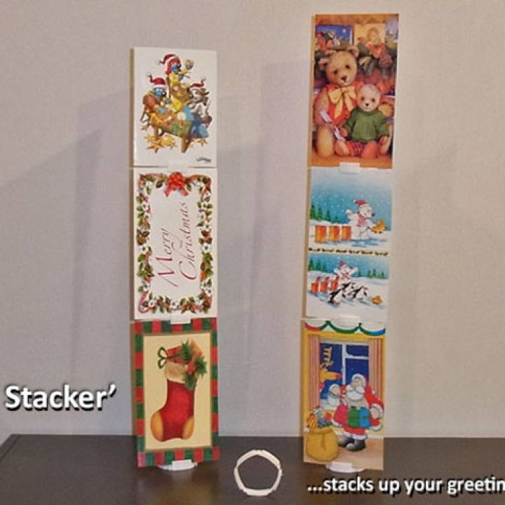 'Card Stacker'... Stacks Your Greeting Cards!