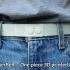 'MakerBelt'... Wearable Ultra Slim One Piece 3D Printed Belt image