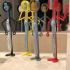 'Tooth Brush Standz' ... Fun Free Standing Tooth Brush Holders! print image
