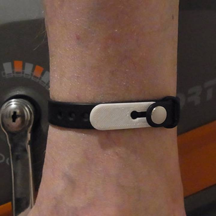 Miband Band Extension Plate - to register activity when cycling and using similar gym equipment