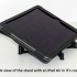 Tablet Stand - Modern style iPad / Tablet stand for use on a desk image