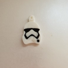 Picture of print of Stormtrooper Key Fob
