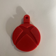 Picture of print of XBOX Key Fob