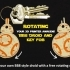 Rotating BB8 Droid And BB8 Key Fob image