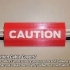 'CAUTION Cable Cover' image