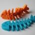 Fish Fossilz print image