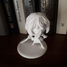 Picture of print of 2B miniature