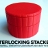 Ribbed Sidewall Interlocking Stackerz image