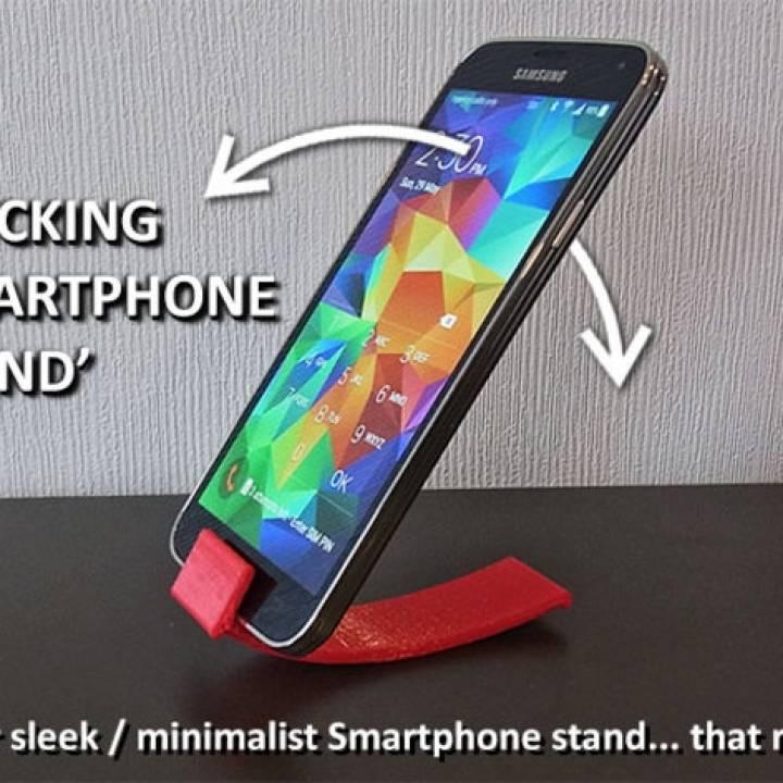 Rocking Smartphone Stand
