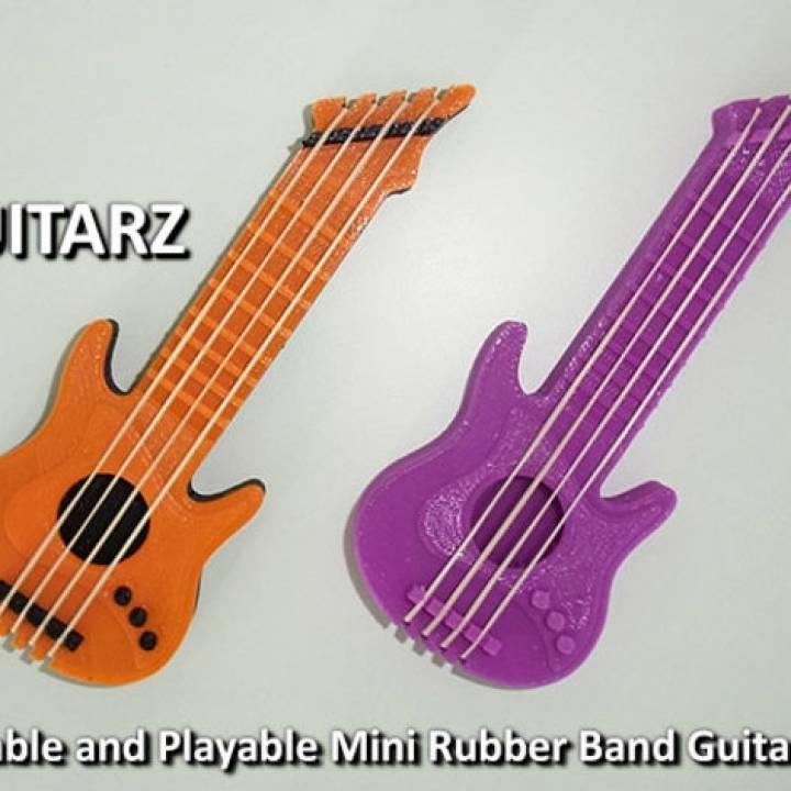 Guitarz - Tunable And Playble Mini Guitars