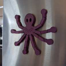 Picture of print of Octo Magnetz... The Ultimate Fridge Magnet!